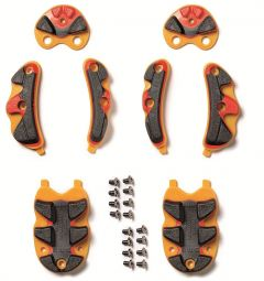 Sidi SRS Black/Yellow/Orange Soles Non-Carbon