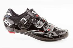 Sidi Five Men's Shoe - Black Vernice