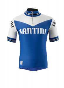 Santini Wool Heritage Short Sleeve Jersey