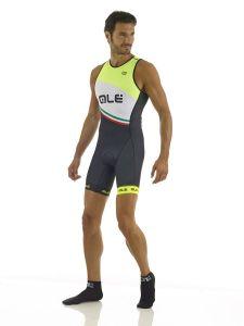 Ale Triathlon Elba Skinsuit - Back Zipper