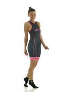 Ale Triathlon Cipro Women's Skinsuit - Back Zipper