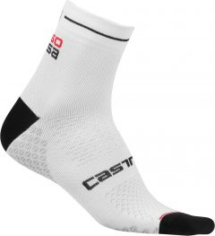 Castelli Rosa Corsa Due Sock